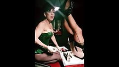 Satin slut filled by Madame C