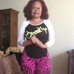 Abuela dominicana de 58 en periscope caliente - 2 part 3