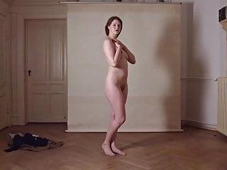 Girl next door strip tease