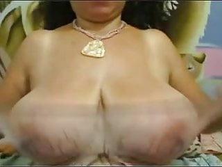 Download video bokep Sweet fat big nippled mature black tits striped on webcam Mp4 terbaru