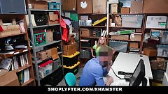 Shoplyfter - Frisky Teen Groped and Fucked