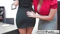 Jayden Jaymes Has To Please Her Very Busty Boss
