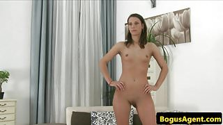 Skinny amateur euro pussyfucks casting agent