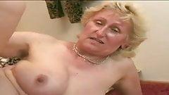 Granny still loves a stiff cock