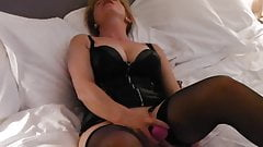 my girlfriend having orgasm's with her vibrator