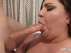 Sexy Fat Chick Takes a Long Dick Straight Up Her Asshole
