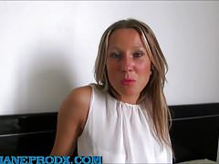 Sublime blonde ruby regales with several men