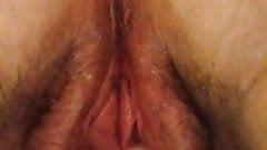 Horny, wet pussy fingering