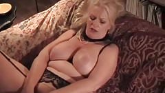 My MILF Exposed granny in stocking playing with high heels