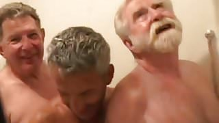 Three Grandpas Fucking