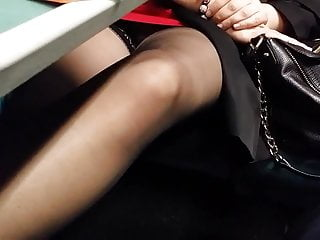 train home (no knickers)