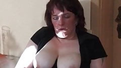 Iam Pierced Mature with nipple and pussy piercings playing