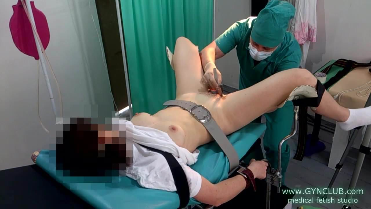 Gynecological fetish video