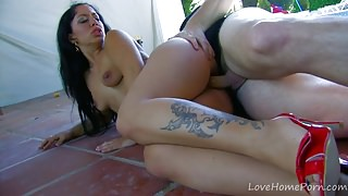 Gold-Skinned Tattooed Lady Sucks And Fucks.mp4