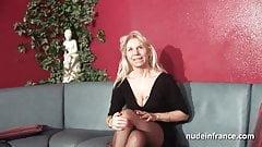 Badjojo granny couch threesome