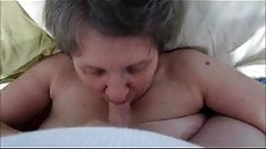 James wife Cathy 61 usa giving him a blow job