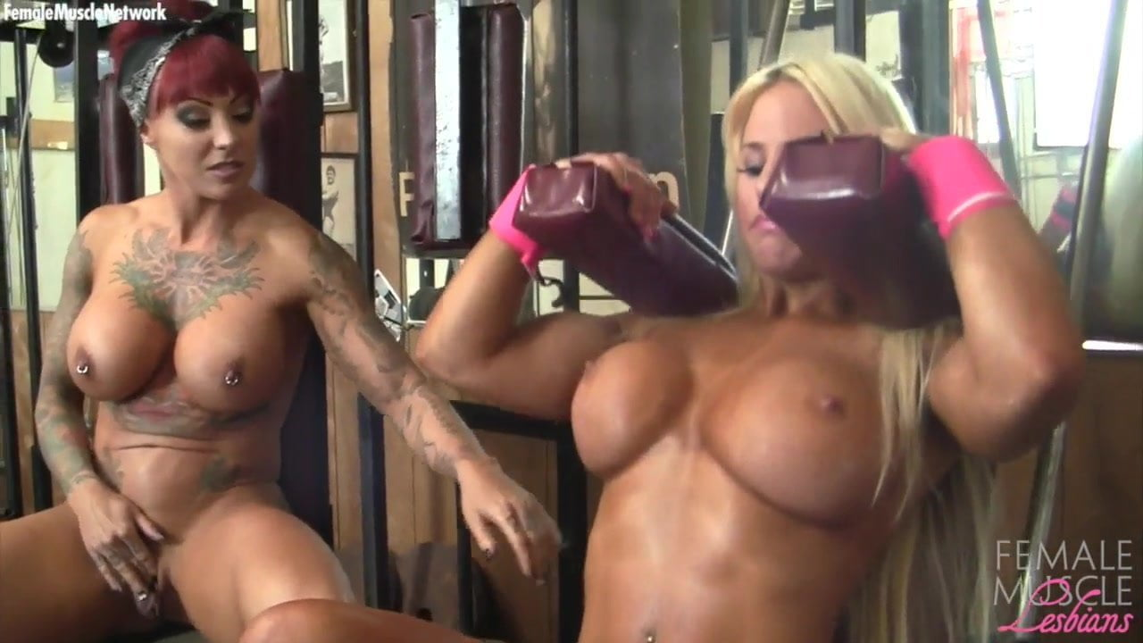 Free download & watch muscle lesbians dani and megan workout         porn movies