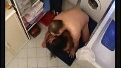 Fucking Black Amateur Hot Teen in Bathroom
