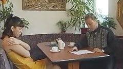 Leila - brunnete gives German blowjobs, vaginal & anal sex