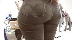 teen thick ass n jeans