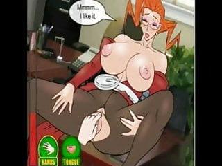 Hentai sex game Meeting with big boobs teacher