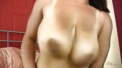 Busty natural amateur dildos hairy pussy