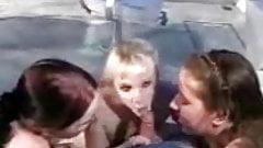Sucked By Three Teens