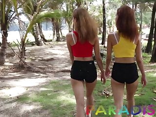 Download video bokep Paradise Gfs - Twins model and get fucked in Thailand Mp4 terbaru