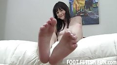 Ive decided to let you play with my gorgeous feet