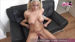 BEST NATURAL TITS FROM GERMAN TURK BITCH THREESOME