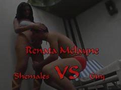 Shemale VS Guy ( Renata Mclayne )