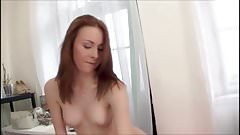 Redhead Anal and Facial