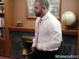 Punished mormon elder ass