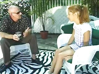 STP3 Cute Little Teen Gets Fucked By An Older Bald Guy !