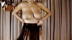 MATURE TWIST - vintage 60's big boobs strip dance tease