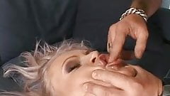 Sexy girl gets ass fucked and pussy cock banged