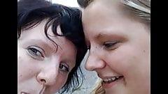 German Girls Tonguing, (low res)