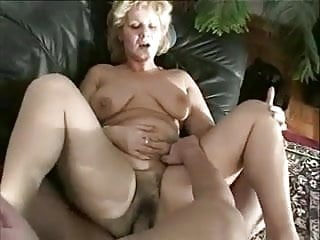 Hot blonde Granny knows how to fuck