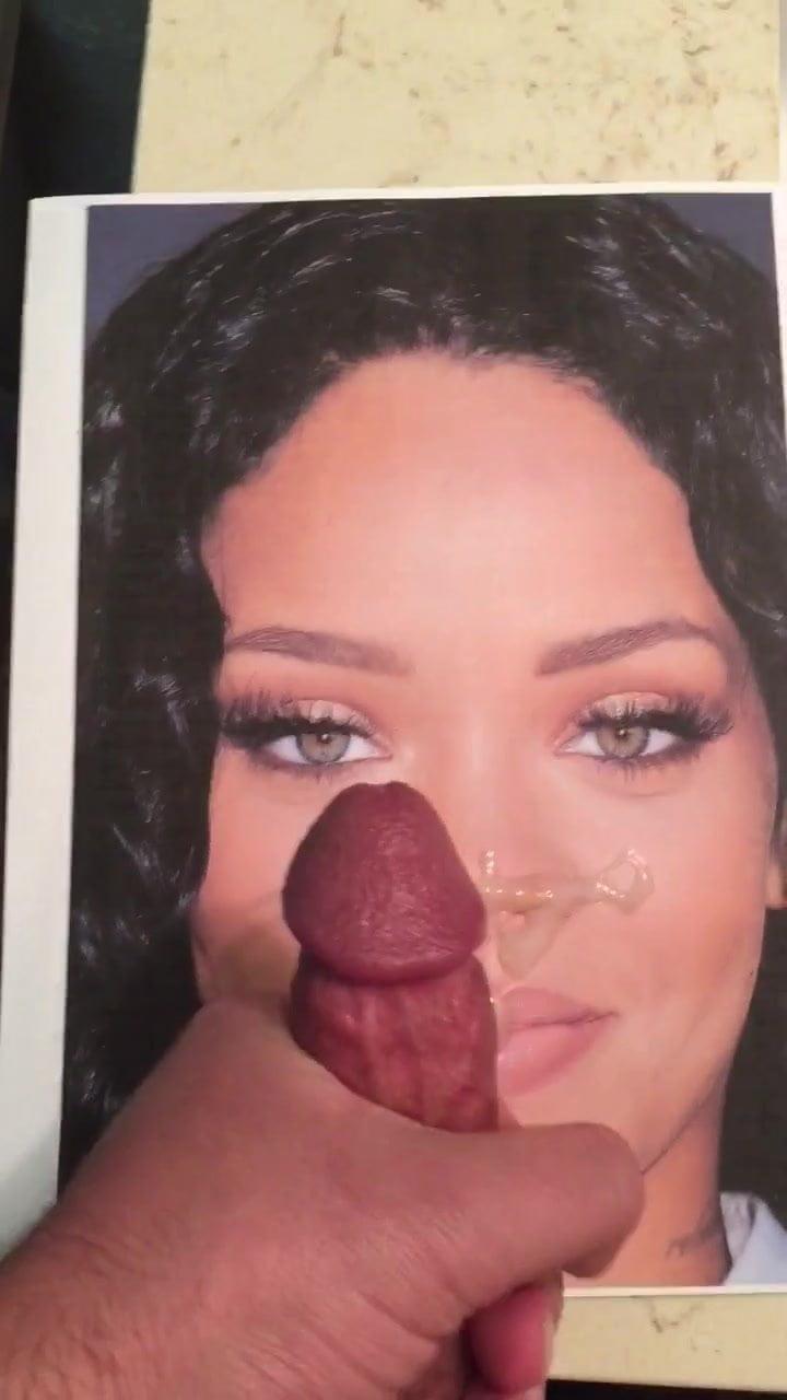 Rihanna Cum