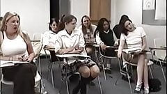 Girl spanked by teacher vintage 01
