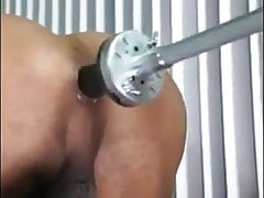 Hot ts get her tight ass machine fucked