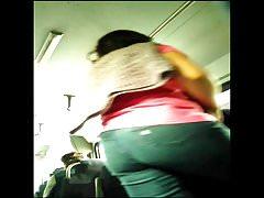 Chica Culona en el camion
