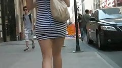 Stalking Sweet Miniskirt Ass