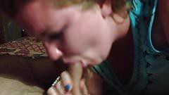 Girlfriend Blowing Her Boyfriend 17