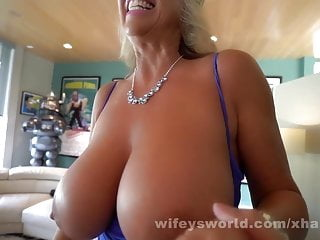 Blindfolded Wife Sucks And Swallows Husbands Friend