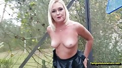 The Peeing MILF Loves Her Job with Ms Paris Rose