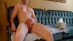 dad jerking on the couch