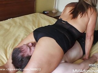 Hot Babes Wrestling and Dominating Guy