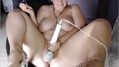 Milf BBW dildo play on webcam - omgilikebigboobs tumblr