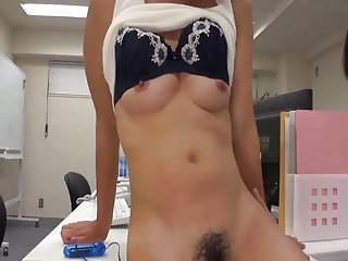 Office Lady Masturbate In Office With Co Worker